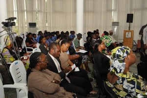 Cross section of the crowd - Women Meeting with Prof Jega of INEC organised by Women Fund